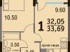 "Схема квартиры в проекте ""Булатниково""- #1253360450"