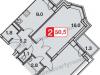 """Схема квартиры в проекте """"Бутовские Аллеи""""- #486756449"""