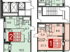 """Схема квартиры в проекте """"Центральный""""- #2103415322"""