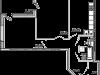 """Схема квартиры в проекте """"Чайка""""- #620468409"""