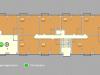 """Схема квартиры в проекте """"Clerkenwell House (Клеркенвелл Хаус)""""- #1170315893"""