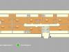 """Схема квартиры в проекте """"Clerkenwell House (Клеркенвелл Хаус)""""- #562335252"""