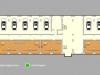 """Схема квартиры в проекте """"Clerkenwell House (Клеркенвелл Хаус)""""- #561781525"""