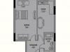 """Схема квартиры в проекте """"Цветной Бульвар""""- #371221809"""