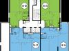 """Схема квартиры в проекте """"Да Винчи""""- #1957485762"""