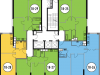 """Схема квартиры в проекте """"Да Винчи""""- #1841302460"""