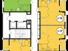 "Схема квартиры в проекте ""Декарт""- #106107080"