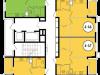 "Схема квартиры в проекте ""Декарт""- #1067710759"