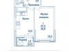 """Схема квартиры в проекте """"Династия""""- #2066035985"""