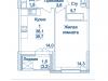 """Схема квартиры в проекте """"Династия""""- #2052460626"""