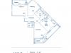 """Схема квартиры в проекте """"Династия""""- #1404412476"""