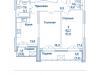 """Схема квартиры в проекте """"Династия""""- #806951046"""