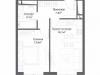 "Схема квартиры в проекте ""Discovery Park""- #724142019"