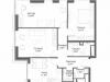 "Схема квартиры в проекте ""Discovery Park""- #653356922"