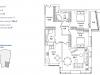 """Схема квартиры в проекте """"Долина сетунь""""- #723161796"""