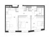 """Схема квартиры в проекте """"Дом Chkalov""""- #70861492"""