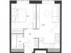 """Схема квартиры в проекте """"Дом Chkalov""""- #843142514"""