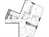 """Схема квартиры в проекте """"Дом Chkalov""""- #1017273163"""