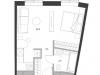 """Схема квартиры в проекте """"Дом Chkalov""""- #1550514422"""