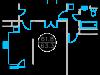 """Схема квартиры в проекте """"Дом на Нагатинской""""- #881665190"""