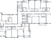 """Схема квартиры в проекте """"Дом на Самаринской""""- #244567727"""