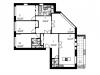 """Схема квартиры в проекте """"Дом на Щукинской""""- #1237351550"""