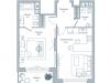 """Схема квартиры в проекте """"Дом на Тишинке""""- #1788209570"""