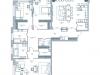 """Схема квартиры в проекте """"Дом на Тишинке""""- #891385182"""