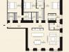 """Схема квартиры в проекте """"Дом с Атлантами""""- #1298336158"""