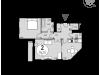 """Схема квартиры в проекте """"Дом в Олимпийской деревне""""- #88196220"""