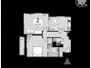 """Схема квартиры в проекте """"Дом в Олимпийской деревне""""- #122797894"""