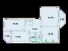 "Схема квартиры в проекте ""Дубна Ривер Клаб""- #1391299103"