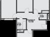 "Схема квартиры в проекте ""Эко-Квадрат""- #1290410649"