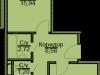 "Схема квартиры в проекте ""Эко-Квадрат""- #170108840"