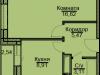 "Схема квартиры в проекте ""Эко-Квадрат""- #2042360597"