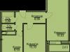 "Схема квартиры в проекте ""Эко-Квадрат""- #1774651156"