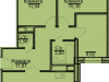 "Схема квартиры в проекте ""Эко-Квадрат""- #372008098"
