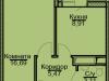 "Схема квартиры в проекте ""Эко-Квадрат""- #124503780"