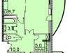 """Схема квартиры в проекте """"Флагман""""- #229176249"""