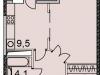 """Схема квартиры в проекте """"Флагман""""- #1870247514"""