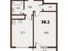 "Схема квартиры в проекте ""Forest""- #443974232"