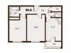 "Схема квартиры в проекте ""Forest""- #2095797816"