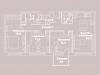 "Схема квартиры в проекте ""Fresh (Фрэш)""- #1795222952"