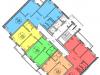 """Схема квартиры в проекте """"Гоголя-2""""- #1661374353"""