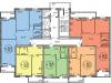 """Схема квартиры в проекте """"Гоголя-2""""- #1518381969"""