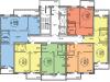 """Схема квартиры в проекте """"Гоголя-2""""- #2096902251"""