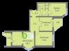 "Схема квартиры в проекте ""Головино""- #2020380733"