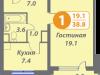 "Схема квартиры в проекте ""Головино""- #2093215851"