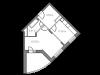"""Схема квартиры в проекте """"Горельники""""- #1266845912"""