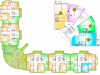 "Схема квартиры в проекте ""Горизонт""- #350240188"